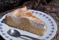 Měsíční krajina (nejen) z remosky - dort / řezy