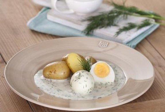Rychlá koprová omáčka s vařeným vejcem photo-0