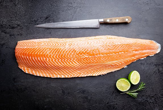Marinovaný losos - gravlax