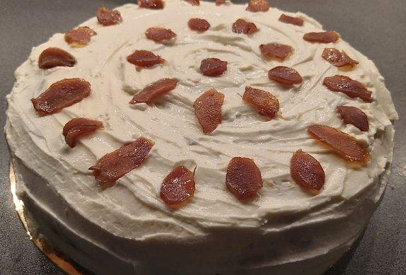 Carrot cake (Mrkvový dort) s pomerančem