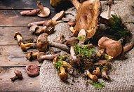 Kořeněné houbové kari