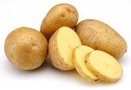 Nové brambory s česnekovým máslem a sýrovým dipem