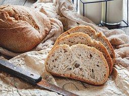 Skvělý domácí kváskový chleba