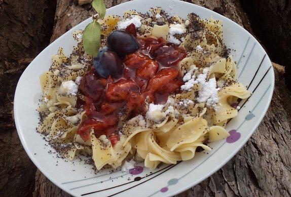 Švestkové těstoviny photo-0