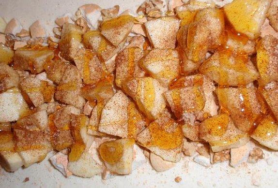 Medový listový závin