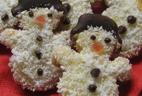 Kokosoví sněhuláčci