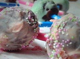 Nepečené Cake Pops