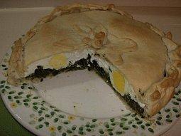 Slaný velikonoční dort (Torta Pasqualina)