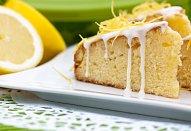 Koláč s kandovanými citrony a citronovým krémem