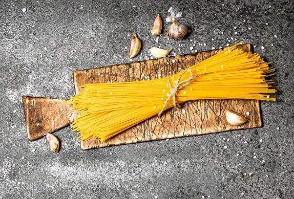 Vegetariánské špagety carbonara