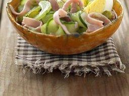 Křupavý salát se šunkou