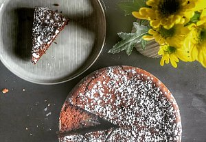 Italský čokoládový koláč TORTA TENERINA