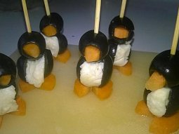 Jednohubky - tučňáci