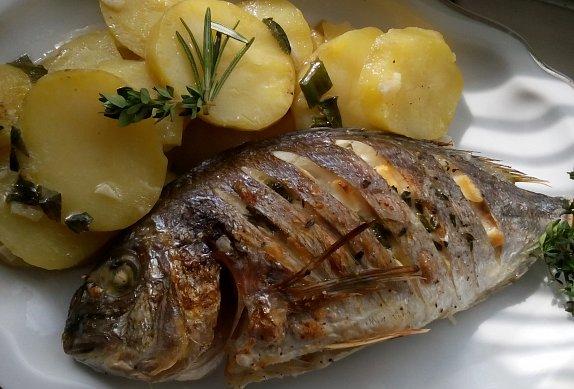 Pražma na bramborách pečená