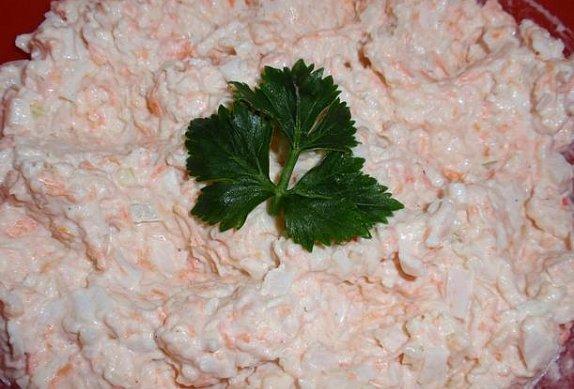 Celerová surimi pomazánka