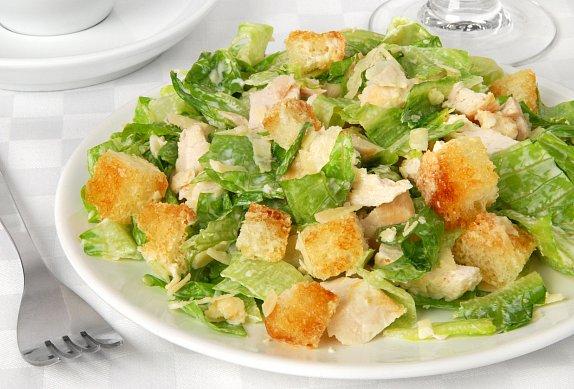 Caesar salát jako z restaurace