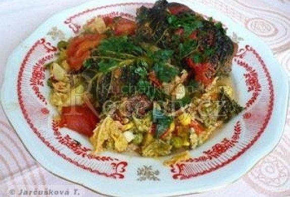Kapustové závitky se zeleninou