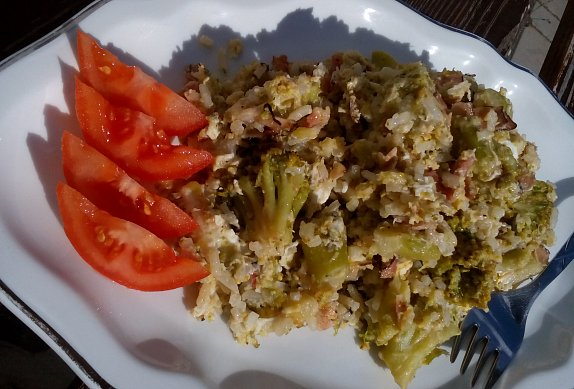 Brokolice s rýží z jedné pánve photo-0