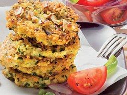 Jáhlové placičky s mrkví