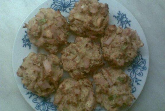 Jednoporcová nádivka jako muffiny