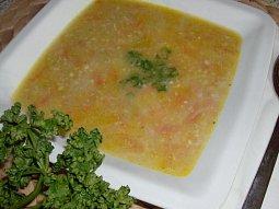 Drožďová polévka křečka Josífka s vločkami