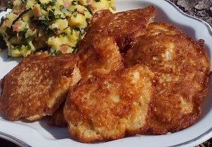 Sýrové kuřecí řízečky
