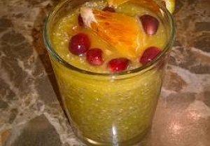 Chia dezert s pomerančem