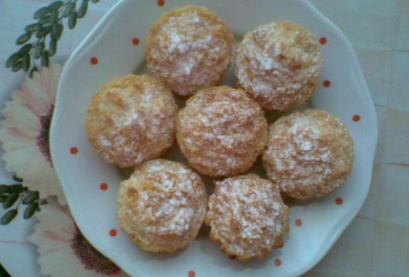 Kokosky v košíčcích
