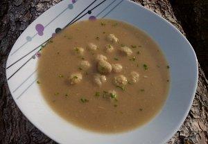 Králičí jíšková polévka - kaldoun