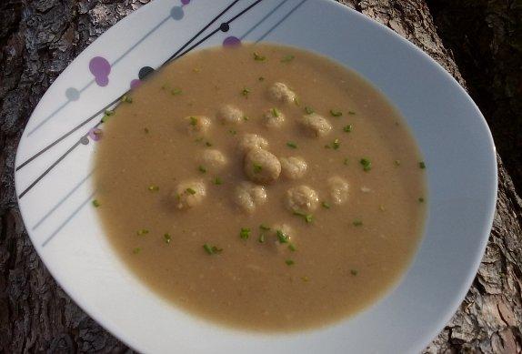Králičí jíšková polévka - kaldoun photo-0