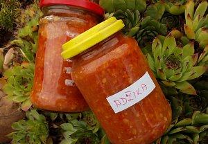 Adžika - zeleninová pasta