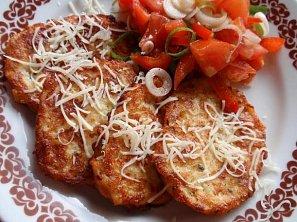 Bramborovo-sýrové placičky nebo vafle