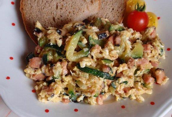 Cuketa s vejci - smaženice