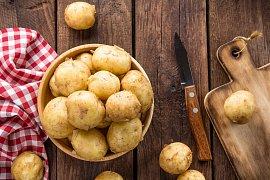 Jak oloupat brambory