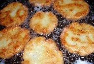 Bramborovo-sýrové placičky (šištičky)