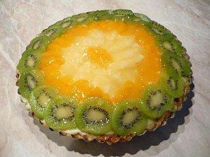 Ovocný dort s želé