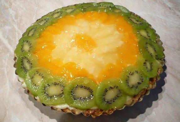 Ovocný dort s želé photo-0
