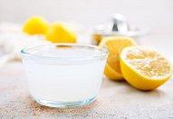 Řízek s citronovou šťávou