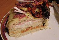 Slaný dort I