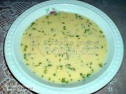 Řecká žloutková polévka se sýrem