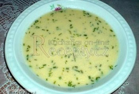 Řecká žloutková polévka se sýrem photo-0