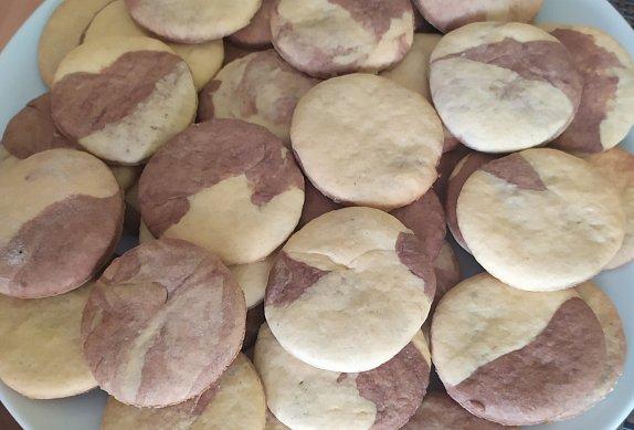 Mramorové sušenky