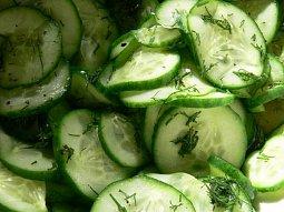 Salát z okurek