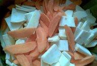 Kapsy se zeleninou ala svíčková