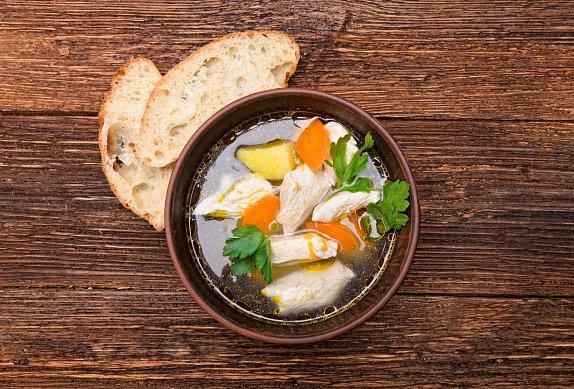 Poctivá kuřecí polévka