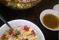 Mexický rýžový salát