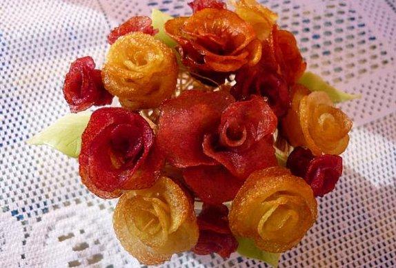 Bramborové růžičky