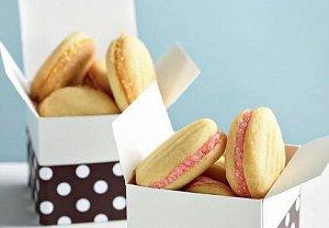 Plněné máslové sušenky