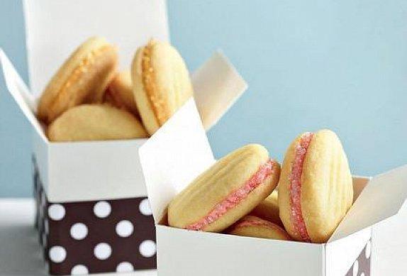 Plněné máslové sušenky photo-0