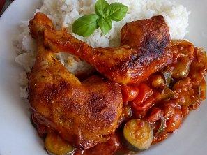 Kuře / králík na zelenině (nejen) z remosky